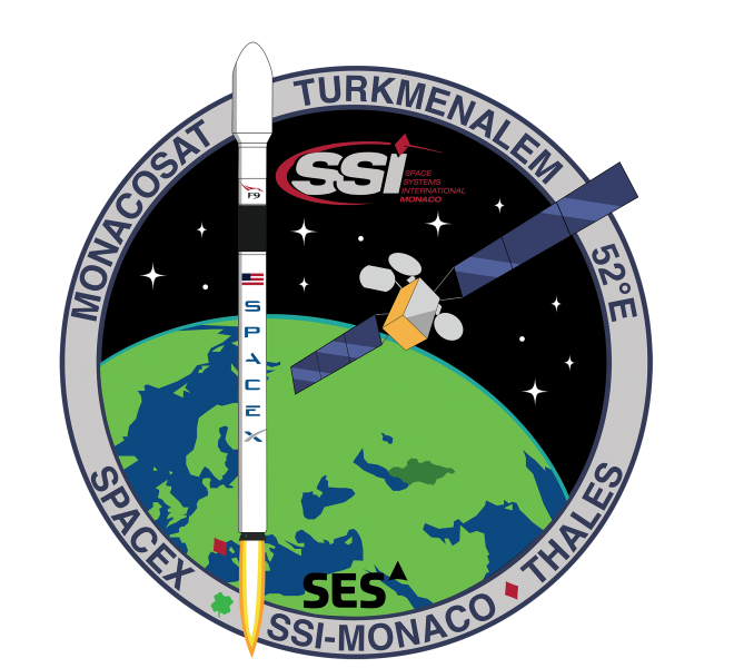Mission Patch with ses