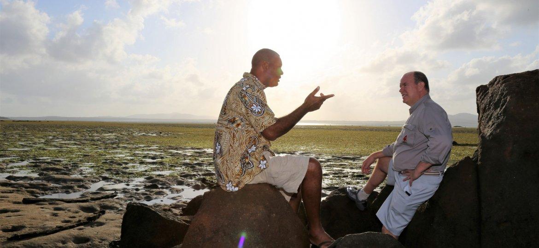 HSH with Alick Tipoti on Badu Island
