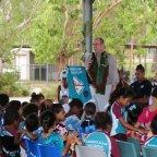 HSH's visit to the Badu's School