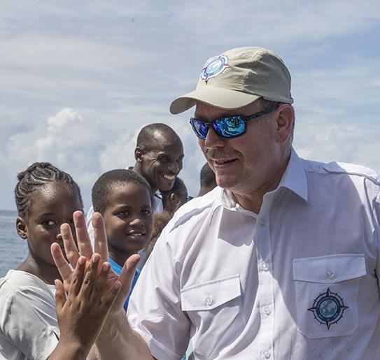 H.S.H. Albert II of Monaco, 27 October 2017, Martinique.