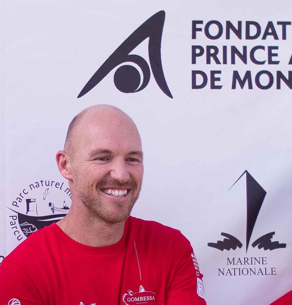Antonin Guilbert, aquanaut of the Gombessa 6 expedition. Monaco, 20 July 2021.